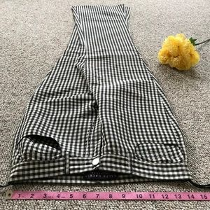 Ralph Lauren Checkered Silk Pants Size 6